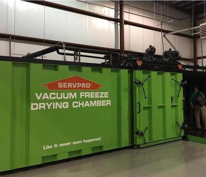 Document drying chamber